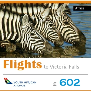 Cheap flights to Africa